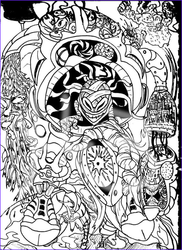 Cool Coloring Sheets Beautiful Image Printable Trippy Coloring Pages Coloring Home