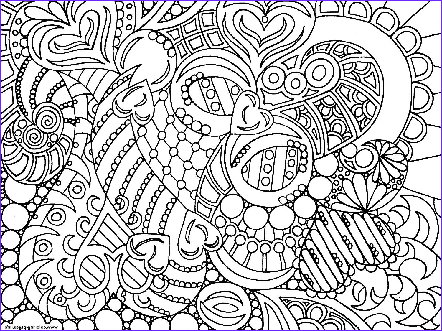 Very Cool Colouring For Adult Coloring Pages Printable