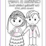 Custom Coloring Books Inspirational Stock Printable Personalized Wedding Coloring Activity By