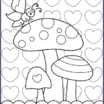 Custom Coloring Page Cool Images Personalized Valentine S Butterfly Garden Coloring Page
