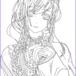 Cute Anime Coloring Pages Best Of Gallery Cute Girl Lineart By Fabineko Coloring Pages