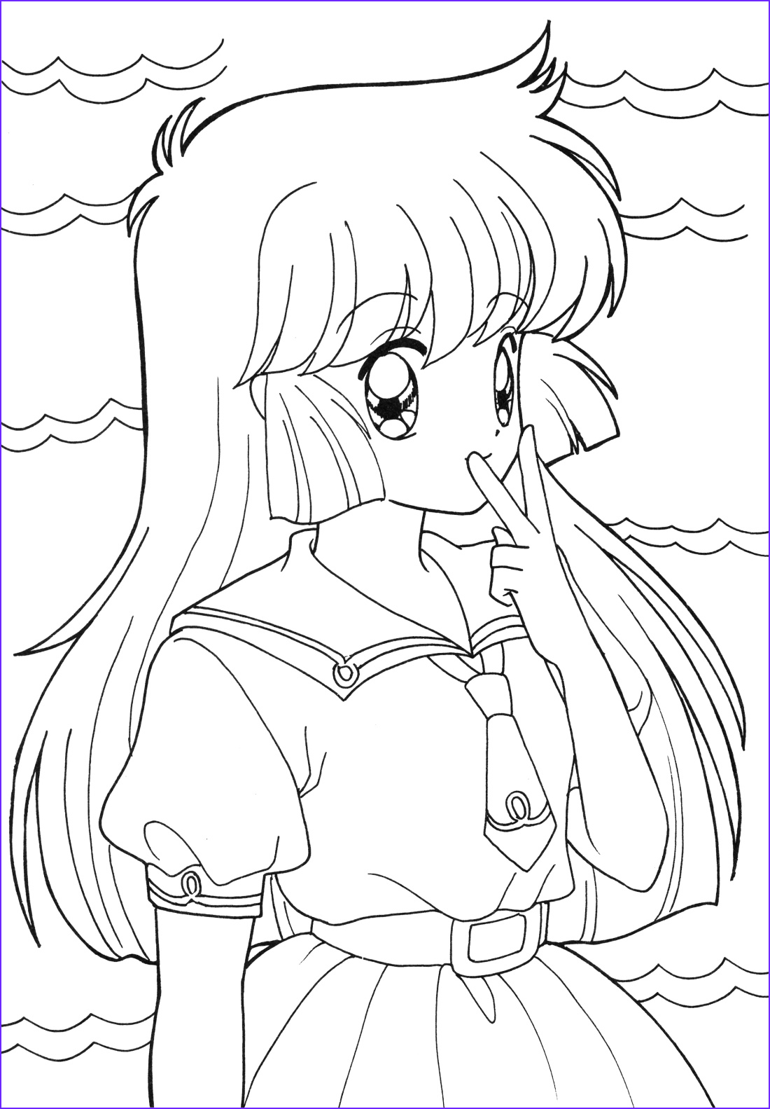 Cute Anime Coloring Pages Inspirational Photography Anime Coloring Pages Best Coloring Pages for Kids