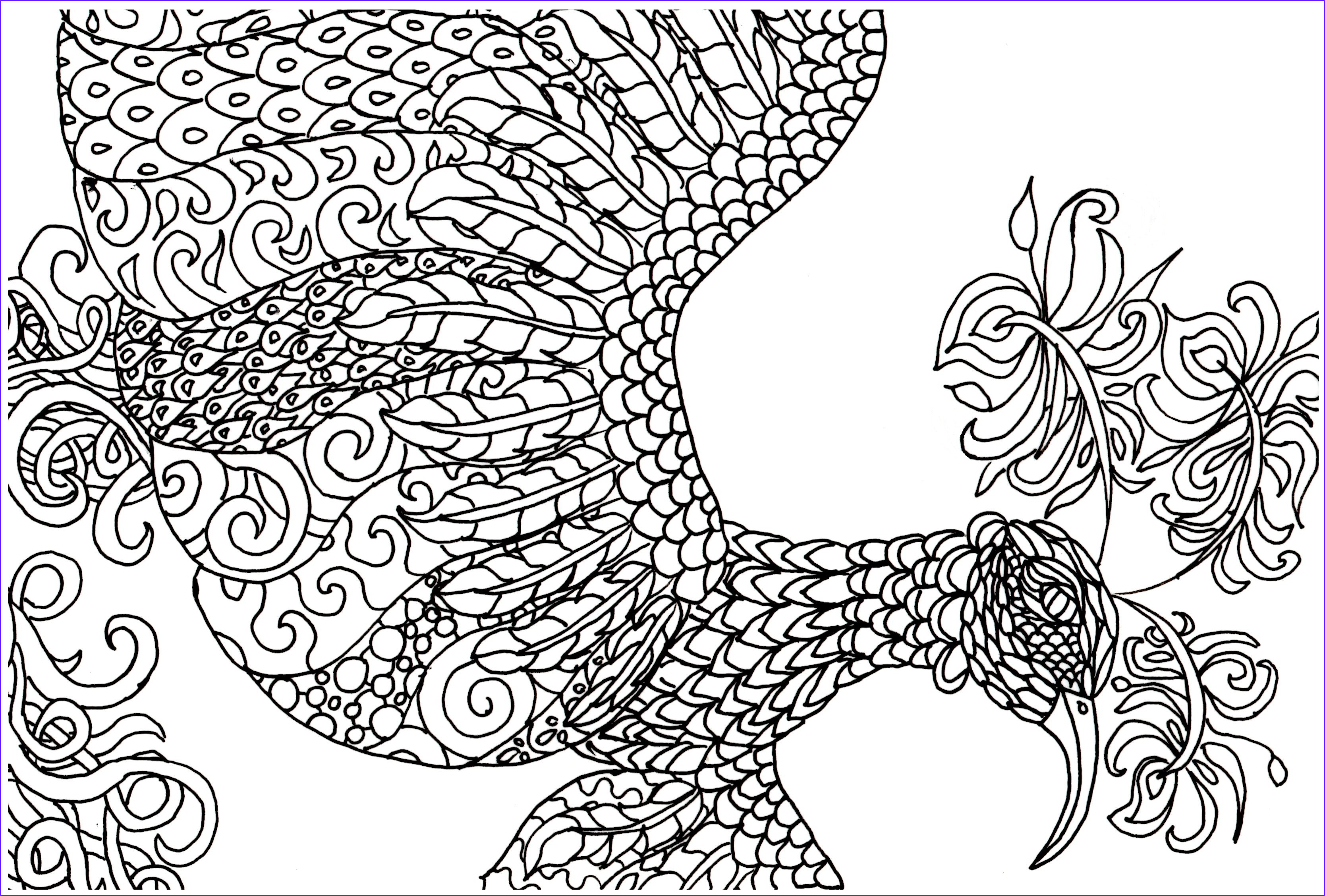 Detailed Coloring Pages coloringsuite
