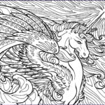 Dragon Adult Coloring Book Best Of Gallery Detailed Coloring Pages Dragon Coloring Pages for Adults