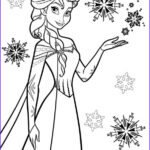 Elsa Coloring Pages Awesome Photos Kids N Fun