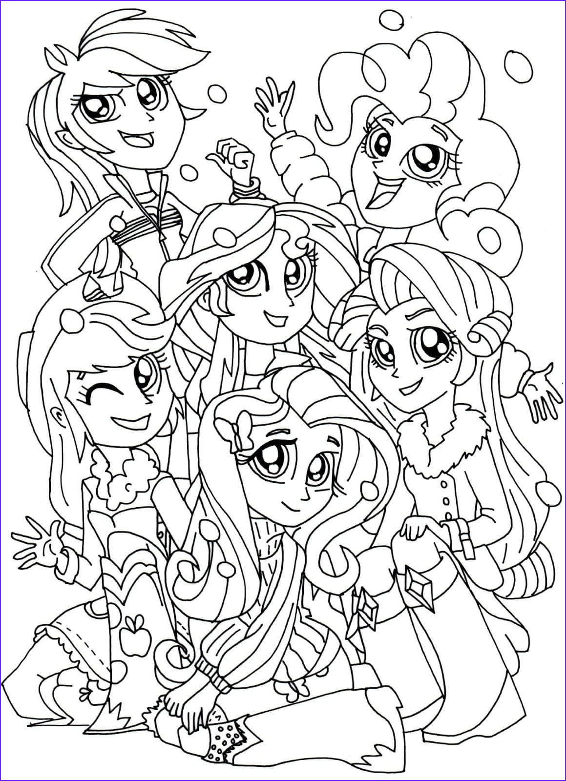 Equestria Girls Coloring Pages Inspirational Image My Little Pony Equestria Girls Coloring Pages
