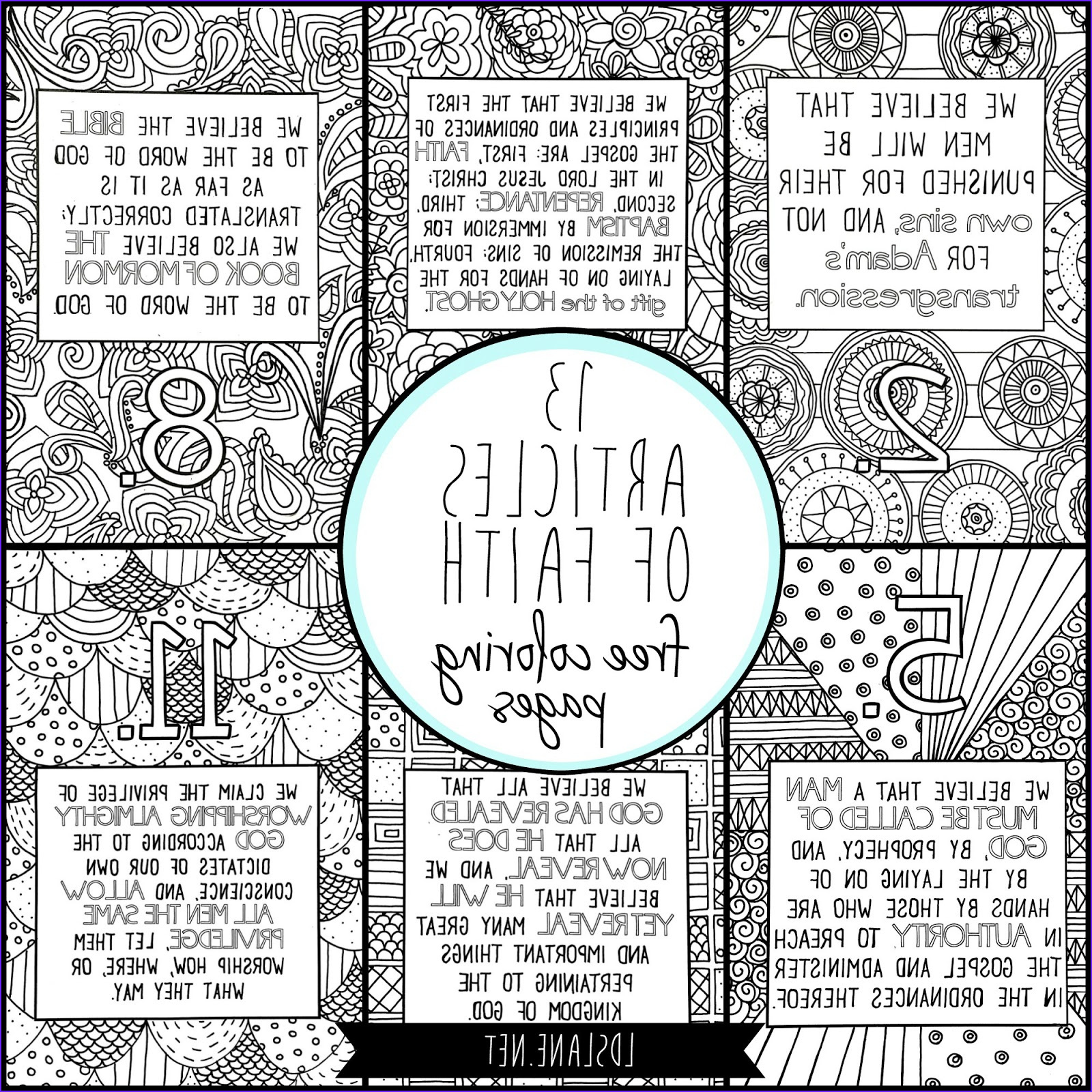 Faith Coloring Pages Best Of Photos 13 Articles Of Faith Coloring Pages