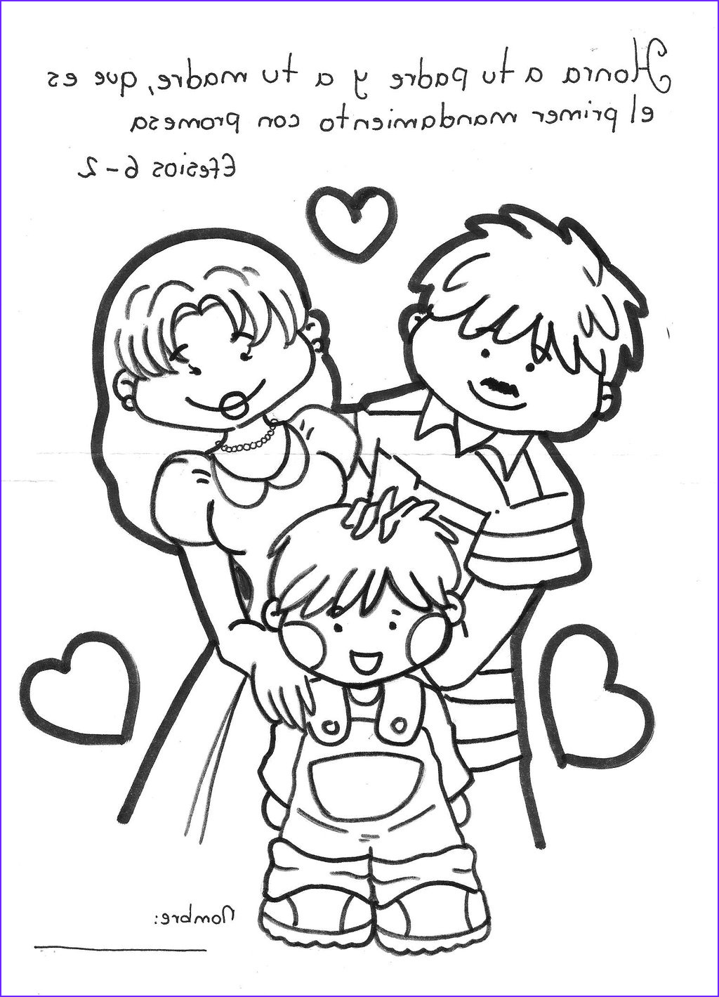 Coloring Sheets Family