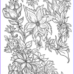 Fantasy Coloring Books For Adults Elegant Collection Floral Fantasy Digital Version Adult Coloring Book