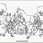 Farm Animals Coloring Pages Inspirational Collection Diy Farm Crafts And Activities With 33 Farm Coloring