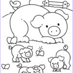 Farm Animals Coloring Pages New Images 23 Best Boerderij Images On Pinterest