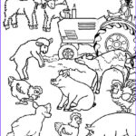 Farm Animals Coloring Pages New Images Farm Animal Farm Animal Activities Coloring Page