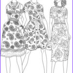 Fashion Adult Coloring Books Awesome Photos 307 Best Fashion Coloring Pages For Adults Images On
