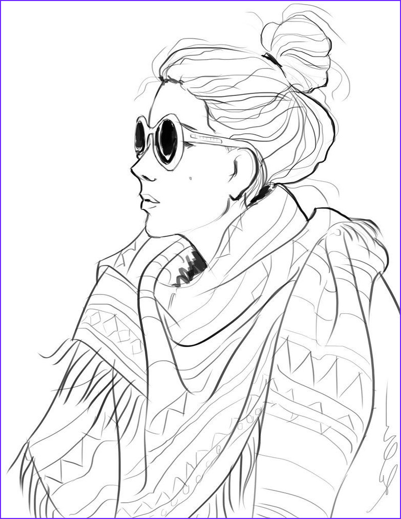 fashion coloring pages for adults Google Search
