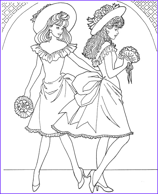 Fashion Adult Coloring Books Inspirational Collection Fashion Model Coloring Page Coloring 3