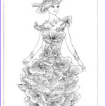 Fashion Adult Coloring Books New Photos Creative Haven Flower Fashion Fantasies Coloring Book