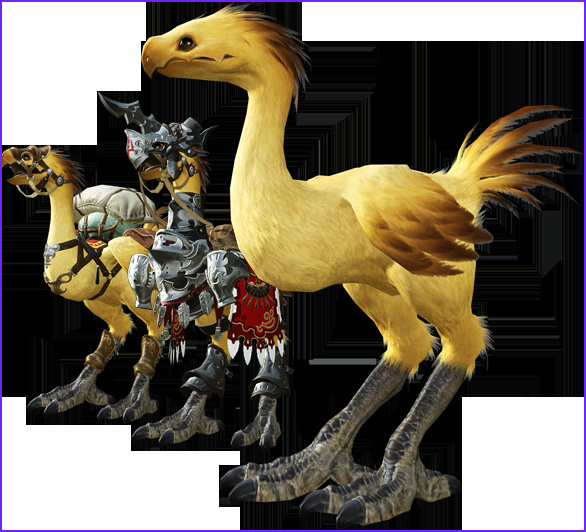 Ffxiv Chocobo Coloring Beautiful Photos Final Fantasy Recurring Characters Characters Tv Tropes