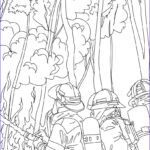 Flames Coloring Pages Beautiful Gallery Firemen Fighting Tree Fire Coloring Pages Hellokids