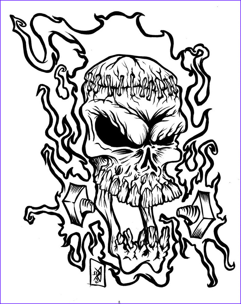 Coloring Pages Hearts With Flames Coloring Pages