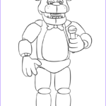 Fnaf Coloring Pages Beautiful Photography Freddy Fnaf Try To Sing Coloring Pages Printable