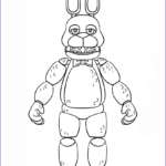 Fnaf Coloring Pages Luxury Photography Fnaf Toy Bonnie Coloring Page