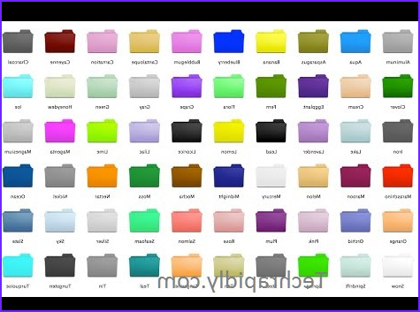 Folder Coloring Beautiful Image How to Change Folder Icons Colors In Windows 7 8 10