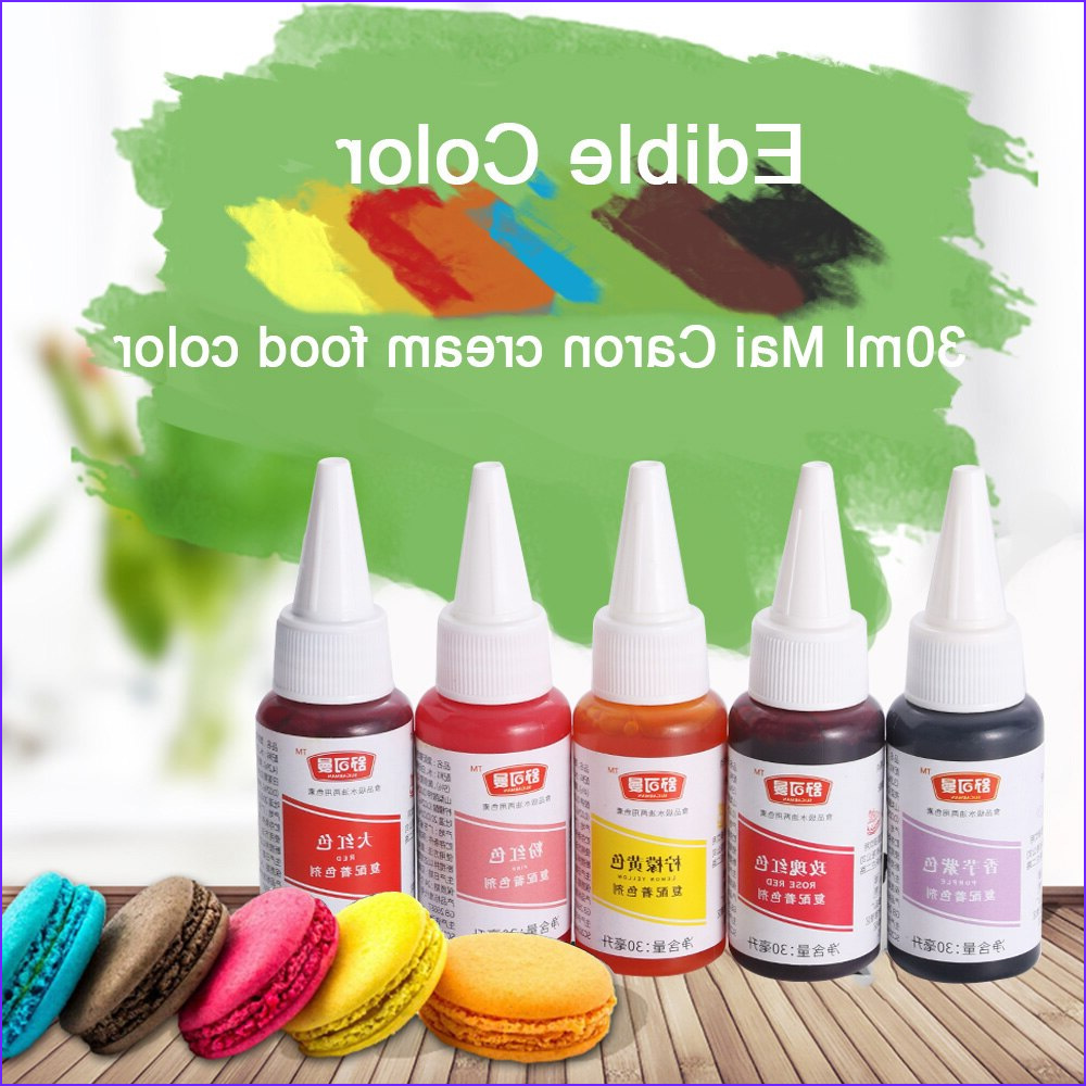 Food Coloring Ingredients Inspirational Photography 30ml Edible Color Pigment Cream Food Coloring Ingre Nts