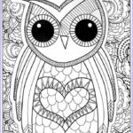 Free Adult Coloring Book Pages Beautiful Gallery Owl Coloring Pages For Adults Free Detailed Owl Coloring