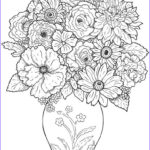 Free Coloring Pages For Adults To Print Beautiful Collection Free Printable Flower Coloring Pages For Kids Best