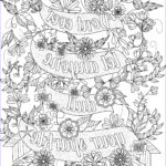 Free Coloring Pages For Adults To Print Best Of Photos Free Inspirational Quote Adult Coloring Book Image From