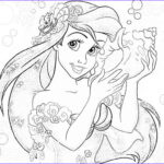 Free Disney Princess Coloring Pages Cool Images Disney Princesses Coloring Pages Ariel Coloring Home