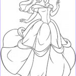 Free Disney Princess Coloring Pages Unique Photos Free Printable Belle Coloring Pages For Kids