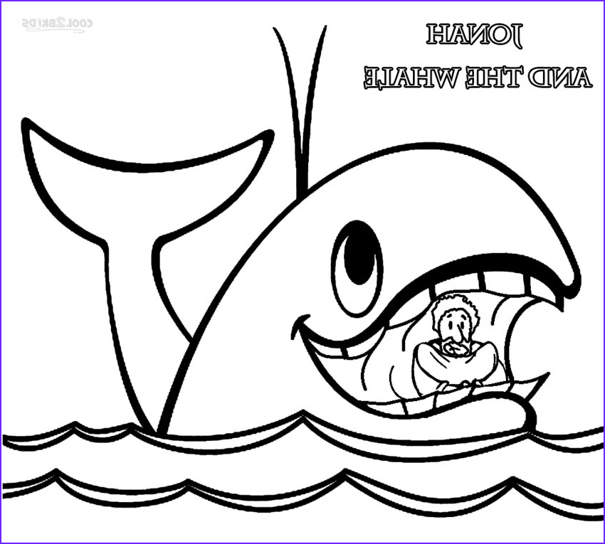 Free Printable Jonah and the Whale Coloring Pages Awesome Photos Printable Jonah and the Whale Coloring Pages for Kids