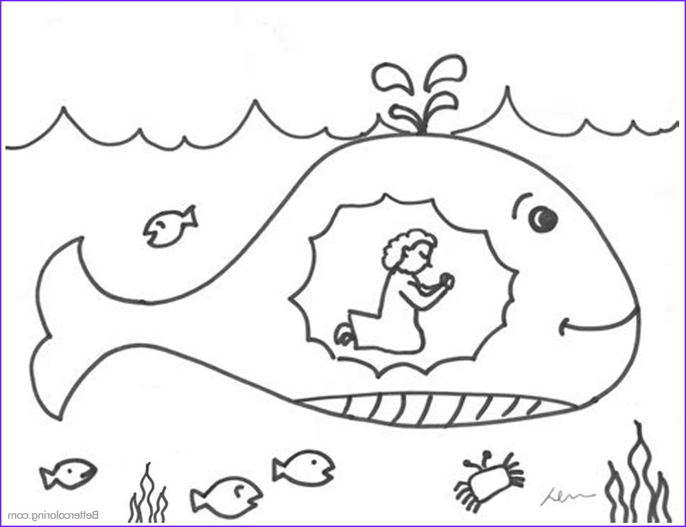 Free Printable Jonah and the Whale Coloring Pages Cool Photos Jonah and the Whale Coloring Pages Praying Free