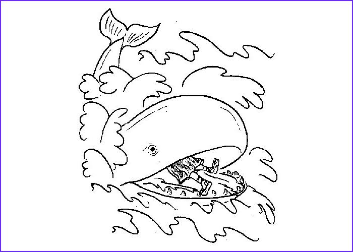 Free Printable Jonah and the Whale Coloring Pages Elegant Collection Free Coloring Jonah and the Whale