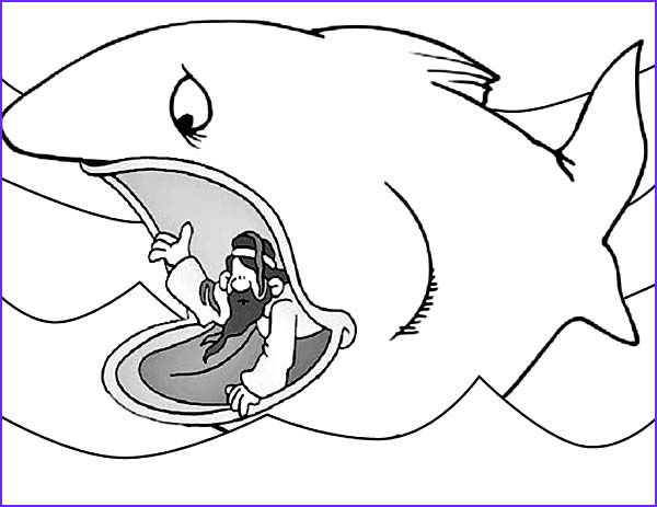 jonah ask for forgiveness to god in jonah and the whale coloring page