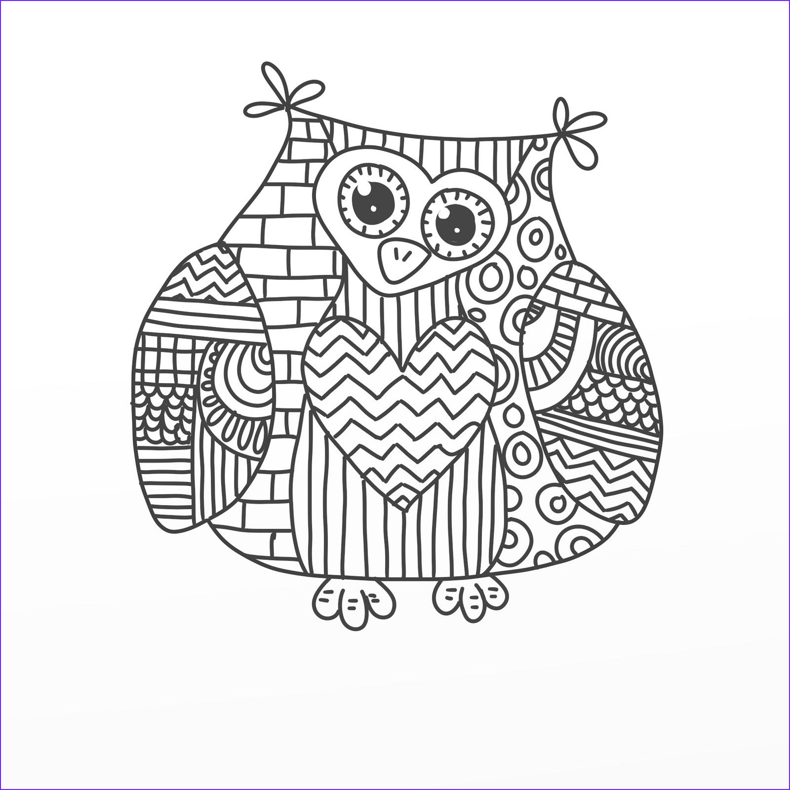 Free Printable Owl Coloring Pages Cool Images Free Coloring Pages Of Doodle Invasion Gianfreda