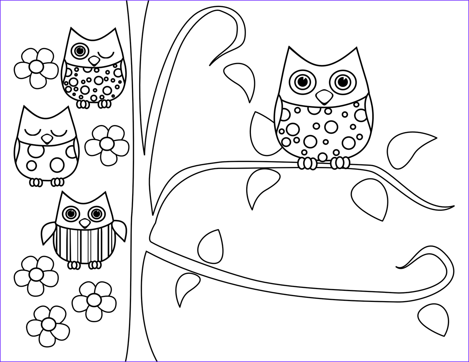 Free Printable Owl Coloring Pages Luxury Photos Cute Owl Coloring Pages Coloring Home