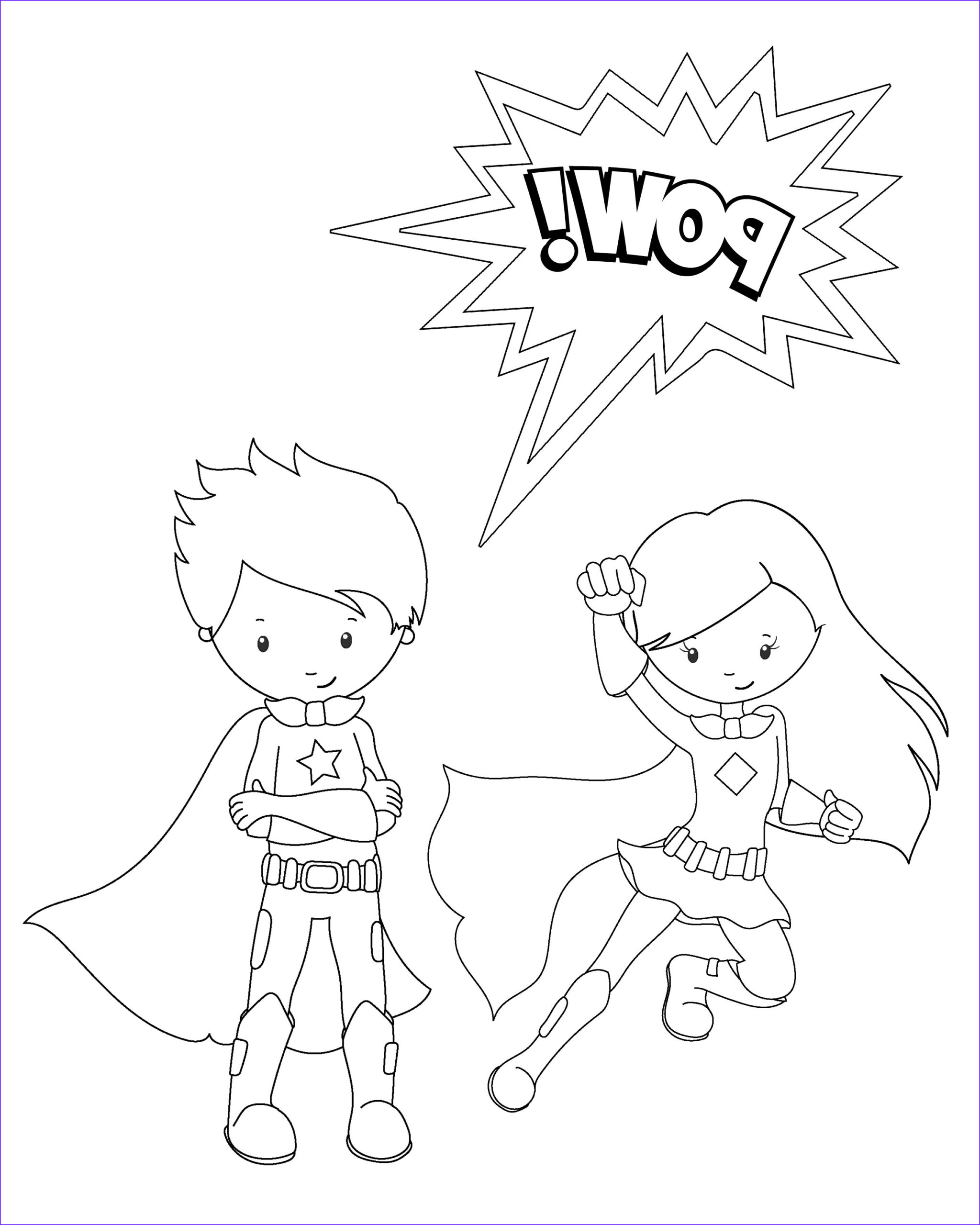 Free Superhero Coloring Pages Best Of Photos Free Printable Superhero Coloring Sheets for Kids Crazy