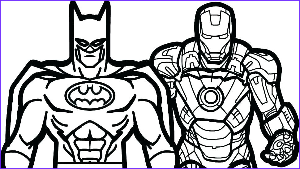 Free Superhero Coloring Pages Inspirational Photos Free Printable Superhero Coloring Pages at Getcolorings