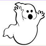 Ghost Coloring Pages Awesome Photos Ghost Clipart Coloring Page Pencil And In Color Ghost