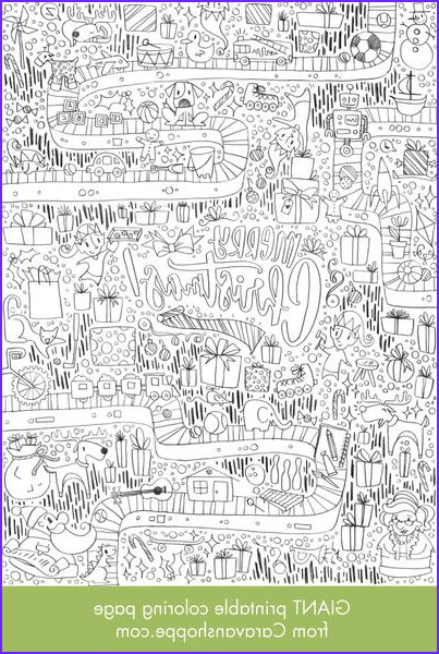 Giant Coloring Posters Awesome Photography Giant Christmas Coloring Poster