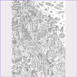 Giant Coloring Posters Awesome Stock Omy X High Line Giant Coloring Poster – High Line Shop