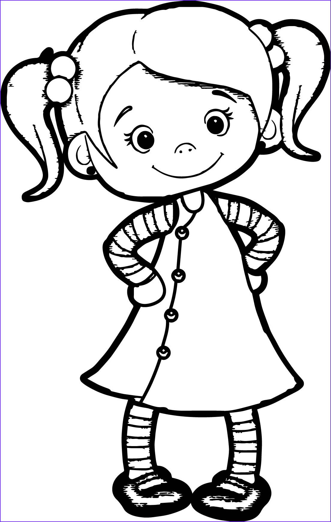 Girl Coloring Pages Awesome Photography Beautiful Cute Girl Coloring Page