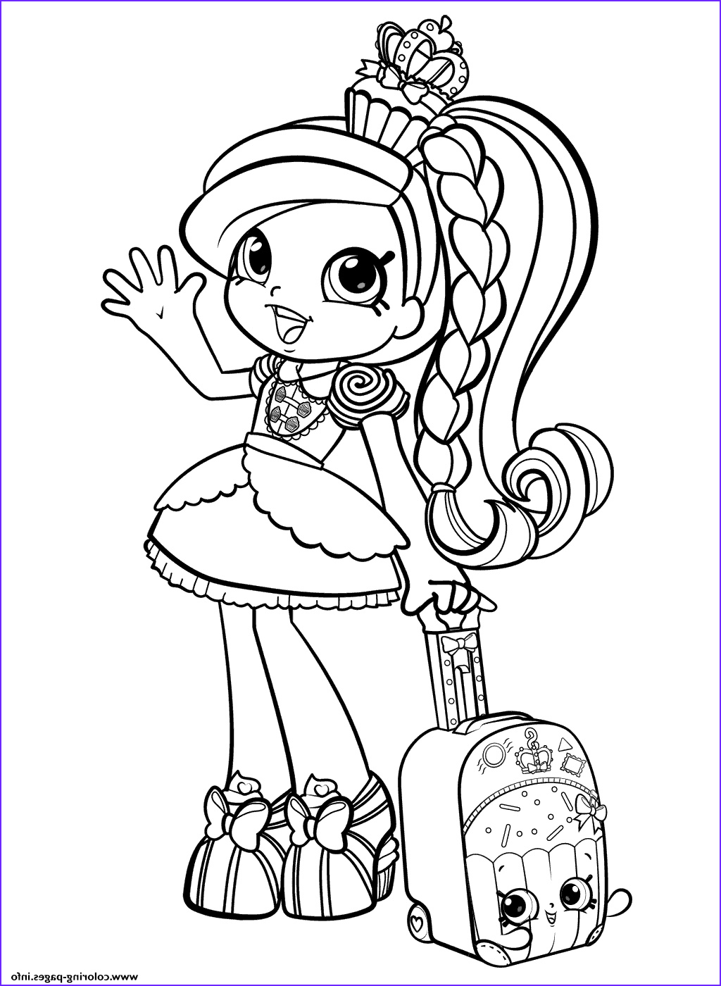 Girl Coloring Pages Inspirational Photos Shopkins Girl In World Vacation Season 8 Coloring Pages