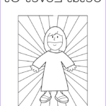 God Loves Me Coloring Page Luxury Collection God Loves Me Coloring Pages Coloring Home