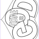 God Loves Me Coloring Page Unique Image 959 Best Coloring Pages Bible Pictures Images On