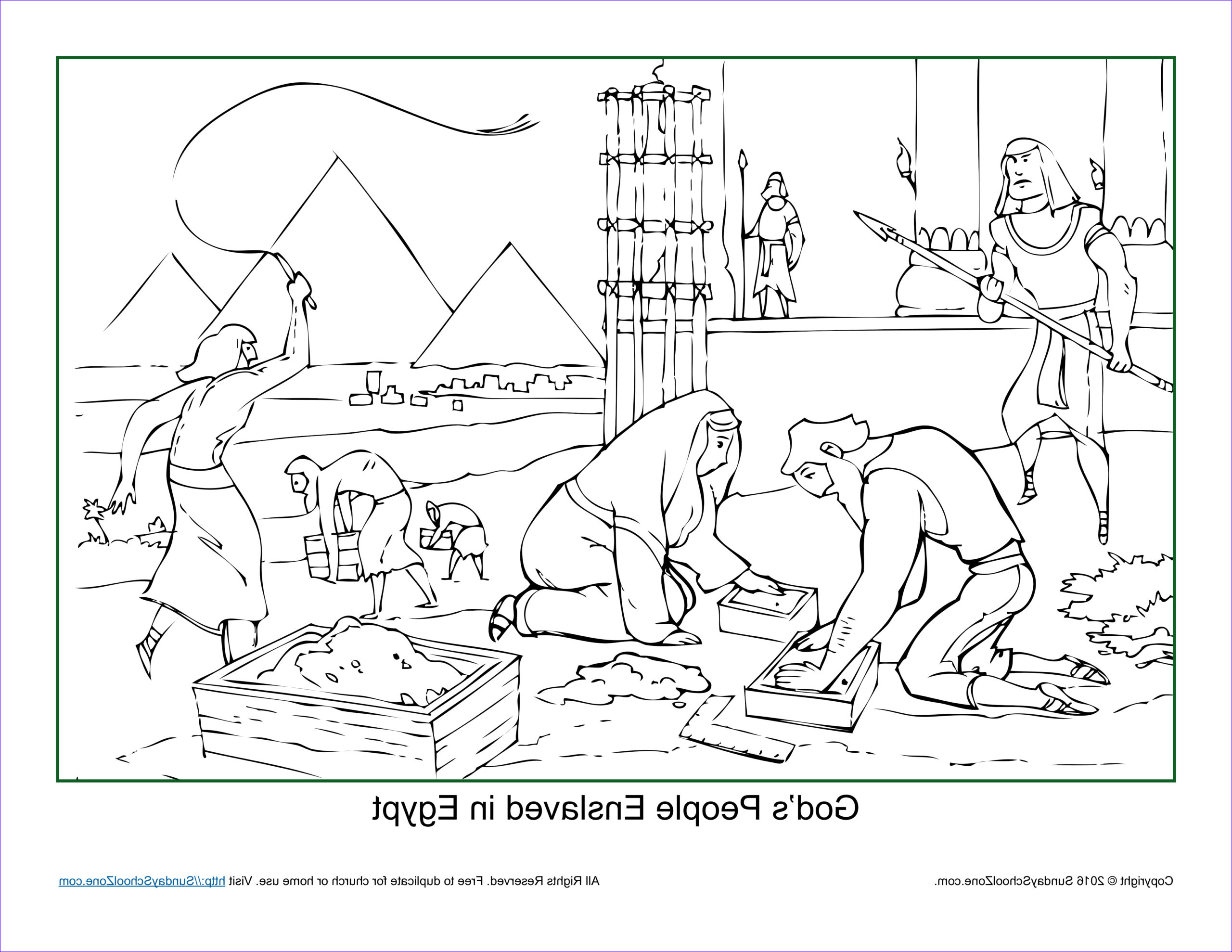 God's Coloring Book Beautiful Photos 49 Coloring Pages Egypt God 039 S People Enslaved In
