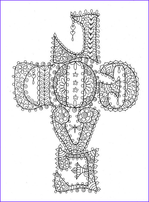 coloring pages of god