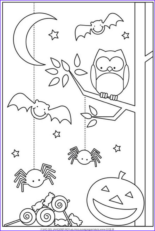 Halloween Coloring Pages for toddlers Beautiful Photos 20 Fun Halloween Coloring Pages for Kids Hative
